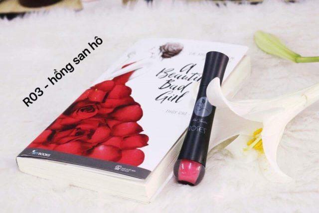 Son Roses màu hồng san hô - R03